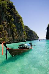 Pee Pee Island at Krabi Thailand