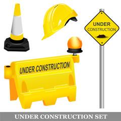 Under construction items set.