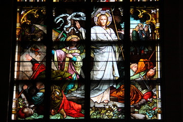 Stained glass, Stockholm