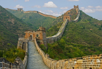 Photo sur Aluminium Muraille de Chine The path ahead