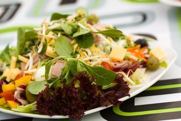 Fresh,big italian summer salad