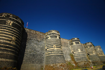 Tours chateau angers france 49