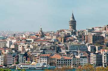 Istanbul and the Galata Tower