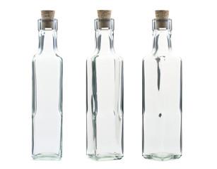 Empty vintage bottle
