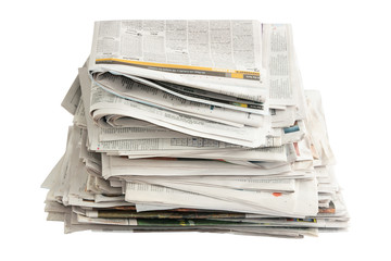 Old Newspapers for Recycling