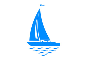 Silhouette of sailboat