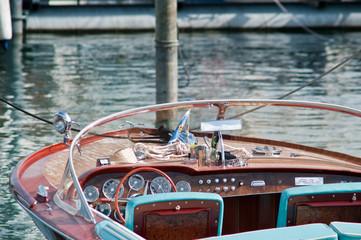 Garden Poster Water Motor sports Motorboot