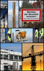 collage baustelle