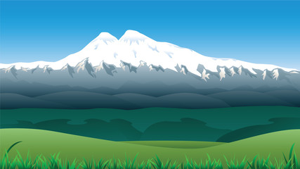Mountain Lanscape