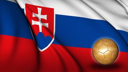 Slovakia soccer flag