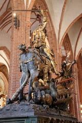 St Georges contre le dragon