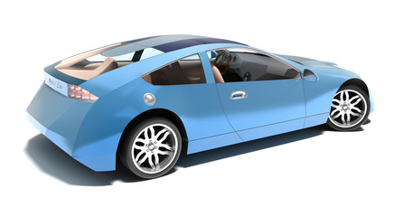 Contemporary hybrid sports car. My own design, no trademarks.