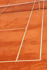 Image of a tennis court