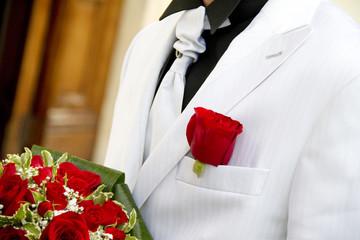 Sposo in bianco