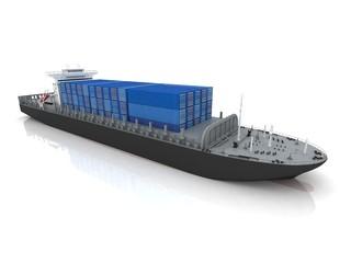 cargo ship - fototapety na wymiar