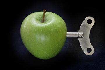 Clockwork apple concept