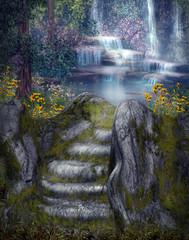 Magiczne wodospady