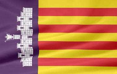 Flagge von Mallorca