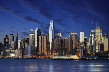 Fotomurales - New York city manhattan taken from jersey side - hoboken