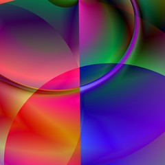 color abstract #1