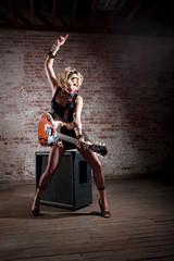 Female Punk Rocker