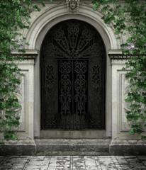 Fototapeta Drzwi do katedry obraz