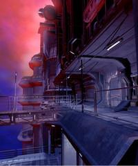 Futurystyczne miasto 4