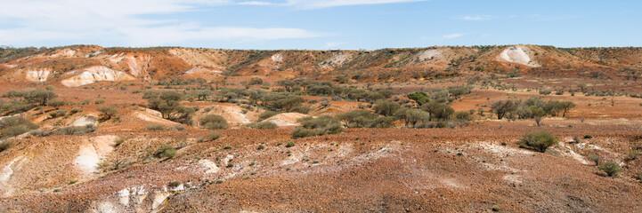 Panorama of Painted Desert, Australia