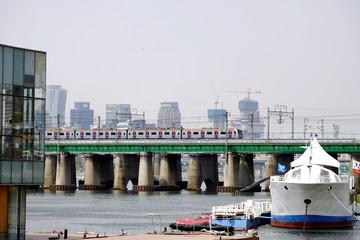 Han River Brücke, seoul, korea
