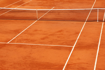 Simple image of a tennis base