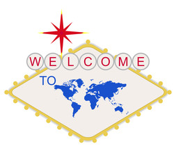 Welcome to the World sign