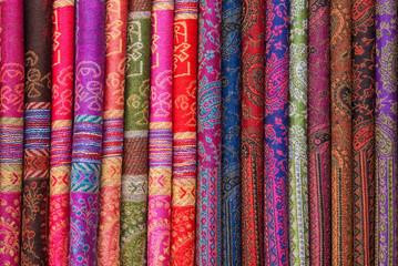 Silk chinese scarfs