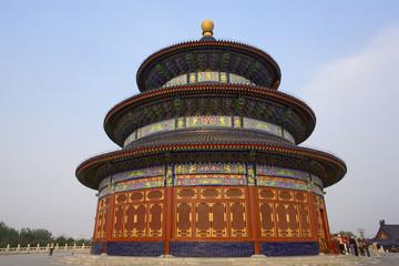 Fotobehang Beijing chine,beijing : temple du ciel