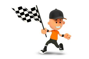 гонки 3d