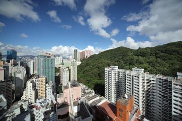 Fototapete - Hong Kong cityscape
