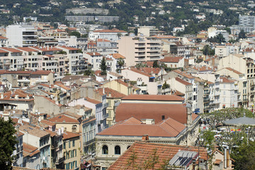 View over Cannes, Cote d'Azur, France