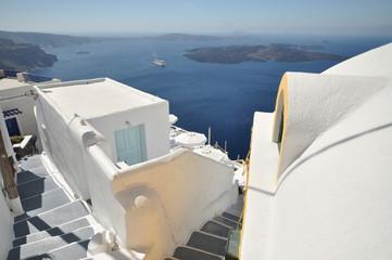 Greece, Cyclades, Santorini Island, Fira