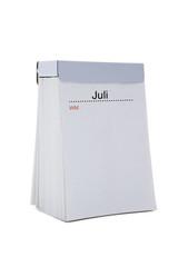 WM Kalender, Juli, blanko