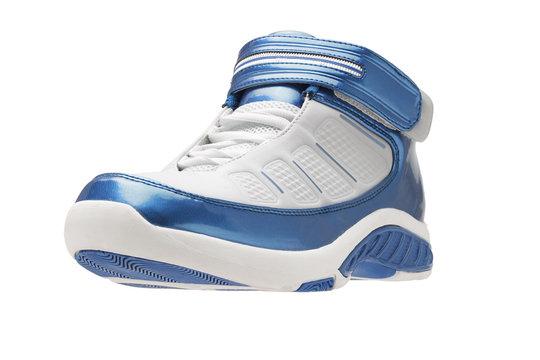 Basketball shoes left side
