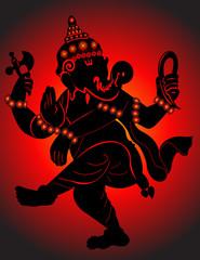 God Ganesha Dancing mode