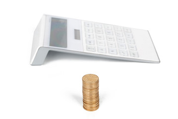 coins with calculator