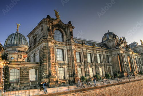 Dresden Bruhlsche Terrasse Stock Photo And Royalty Free Images On