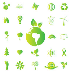 Eco-friendly Icons