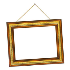 Frame and string