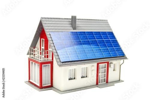 haus mit solarzellen stockfotos und lizenzfreie bilder auf bild 23314401
