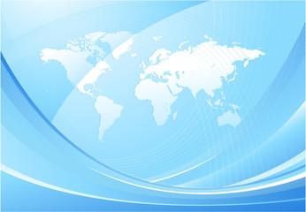 World map design