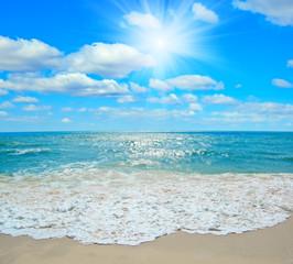 Tropical seascape.