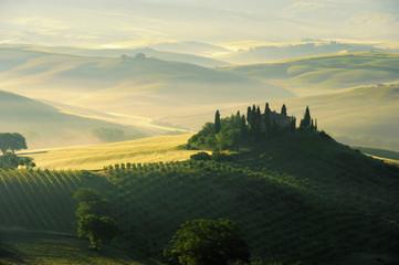 Toskana Huegel  - Tuscany hills 02 Fototapete