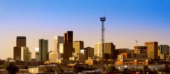 Denver city downtown