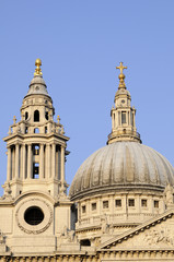towers of Saint Paul's Cathedral